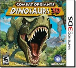 Combat of Giants Dinosaurs 3D 3DS