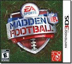Madden NFL Football 3DS