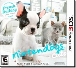 nintendogs   cats French Bulldog 3DS