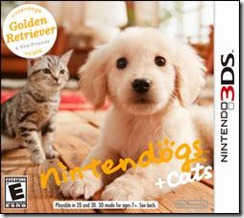 nintendogs   cats Golden Retriever 3DS