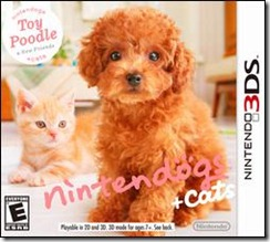 nintendogs   cats Toy Poodle 3DS