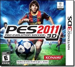 Pro Evolution Soccer 2011 3DS